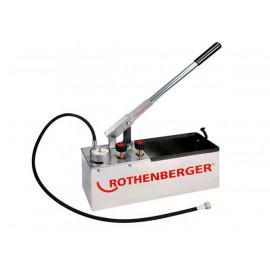 Ручной опрессовочный насос RP 50-S INOX 60203 ROTHENBERGER