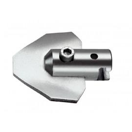 Изогнутый лопаточный скребок с муфтой 22 мм ROTHENBERGER-72261