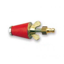 Коническая газоконтрольная пробка 1 2-1 с пневм.подключением Rothenberger-351261