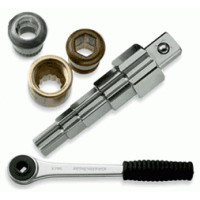Газоступенчатый ключ с трещоткой Rothenberger-73281