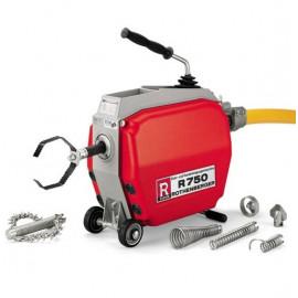 Машина для чистки труб R750, 1000Вт, без принадлежностей Rothenberger-72910